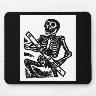 Skeleton, circa 1951 Mexico. Mouse Pad