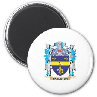 Skeleton Coat of Arms - Family Crest Refrigerator Magnets