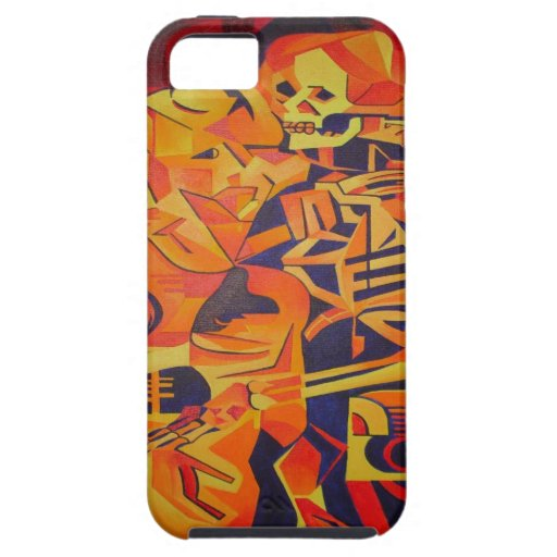 Skeleton Couple At Halloween iPhone 5 Cases