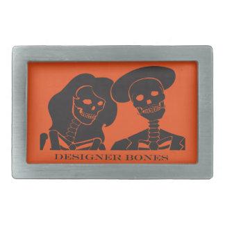 Skeleton Couple Belt Buckle