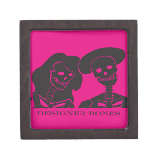 Skeleton Couple Box