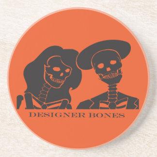 Skeleton Couple Coaster