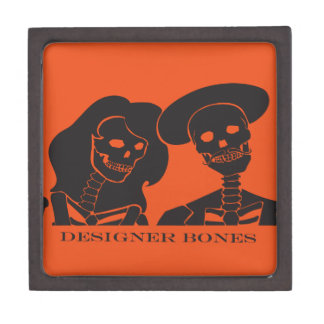 Skeleton Couple Gift Box
