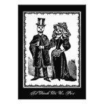 Skeleton Couple - Invitation