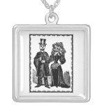 Skeleton Couple - Necklace #1 (Customize)