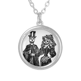 Skeleton Couple - Necklace #2