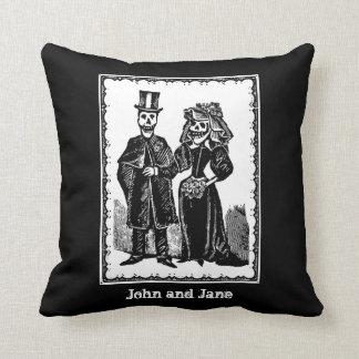 Skeleton Couple - Pillow #2 (Customize)