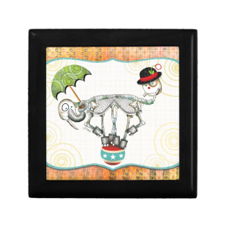 Skeleton Creature -  Balancing Act Twins Keepsake Box
