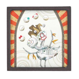 Skeleton Creature - Twins Premium Keepsake Box