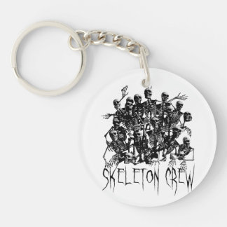 Skeleton Crew Keychain