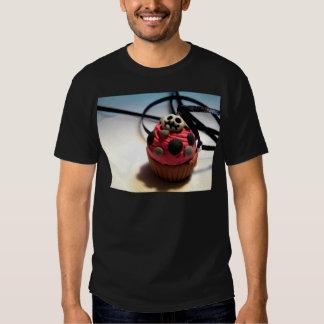 Skeleton Cupcake Tee Shirt