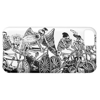 Skeleton Cyclists by José Guadalupe Posada iPhone 5C Covers