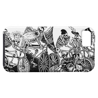 Skeleton Cyclists by José Guadalupe Posada iPhone 5 Covers