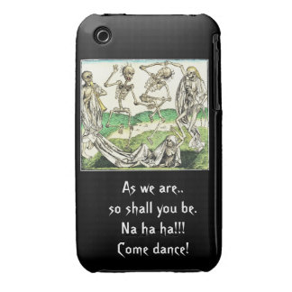 Skeleton dance ipad case iPhone 3 cover