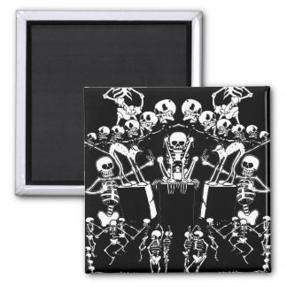 Skeleton Dance Magnet