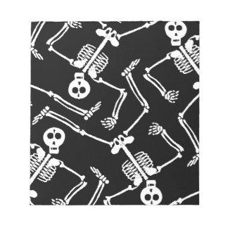 Skeleton Dance Notepad
