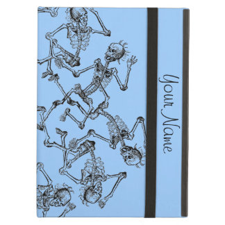 Skeleton Dance Party Graphic Art Add Your Text Cover For iPad Air