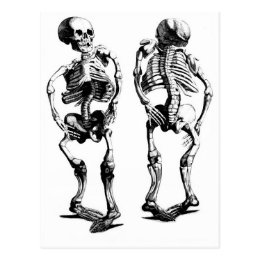 Skeleton Dance postcard