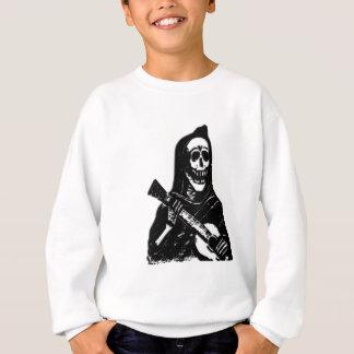 Skeleton Day of Dead Guitar Player Sweatshirt