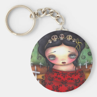 skeleton Day of the Dead Keychain