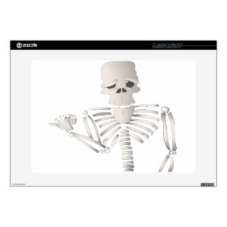"Skeleton Decals For 15"" Laptops"