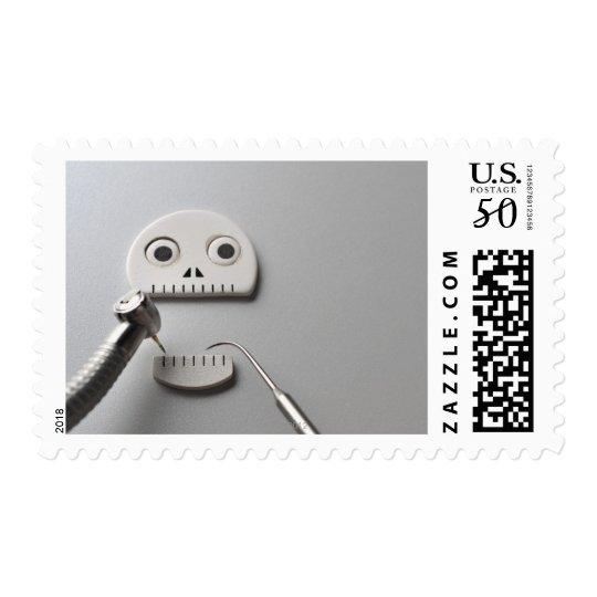 Skeleton Dental Treatment Postage