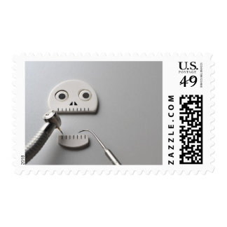 Skeleton Dental Treatment Stamp