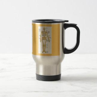 Skeleton Diagram Travel Mug