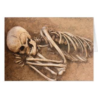 Skeleton Dirt Nap Card