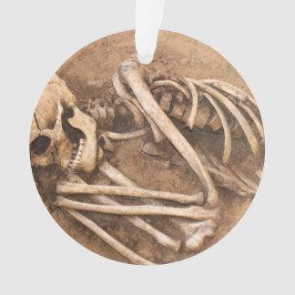 Skeleton Dirt Nap Ornament