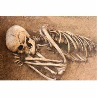 Skeleton Dirt Nap Statuette