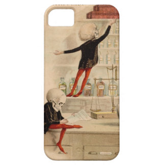 Skeleton Doctor Pharmacist Medical Art Iphone Case