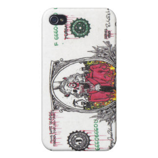 Skeleton Dollar Bill iPhone 4/4S Cases