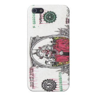 Skeleton Dollar Bill iPhone SE/5/5s Cover