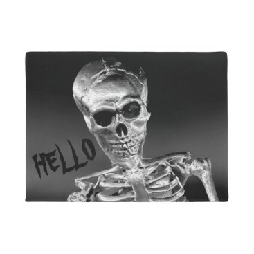 Halloween Themed Skeleton Doormat