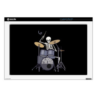 Skeleton Drummer Laptop Decal