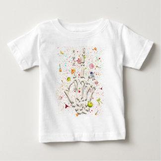 Skeleton Finger Swear Baby T-Shirt