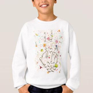 Skeleton Finger Swear Sweatshirt