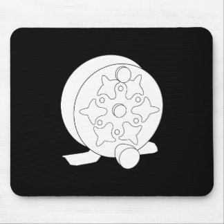 Skeleton Fly Reel Mouse Pad