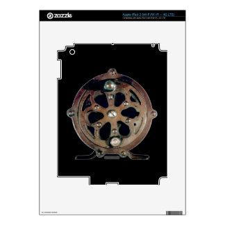 Skeleton Fly Reel St Joe iPad 3 Decals