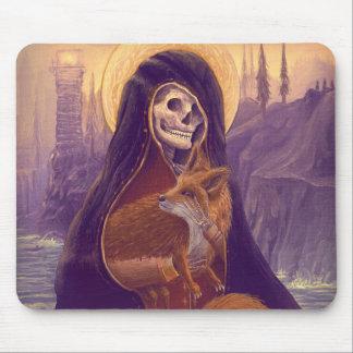 Skeleton&Fox art Mug Mousepad