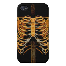 Skeleton Frame iPhone 4/4S Covers