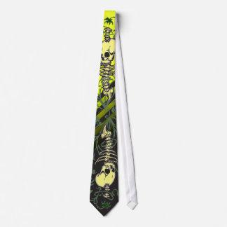 Skeleton Garden Tie