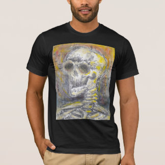 Skeleton Ghost Print T-Shirt