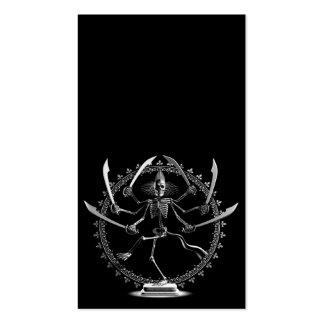 Skeleton Goddess Business Card