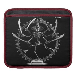 Skeleton Goddess iPad Sleeves