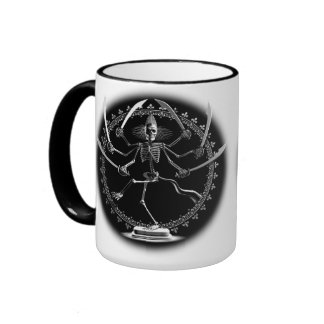 Skeleton Goddess Coffee Mug