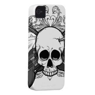 Skeleton Gothic iPhone 4/4S Case-Mate Barely There iPhone 4 Case-Mate Case