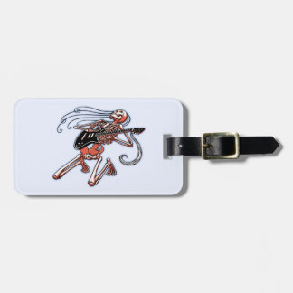 Skeleton Guitarist 0515 Bag Tag
