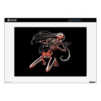 """Skeleton Guitarist 0515 Skin For 15"""" Laptop"""